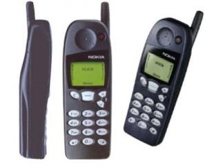 初めて買ったGSM携帯、Nokia 5100。シンプルで良い携帯だった。