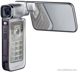 最後に使ったノキア携帯N93i。これも本当によいケータイだったが、ヒンジがネックになってしまった。
